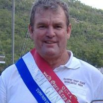 Ray Collinson, from Burdekin Clay Target Club